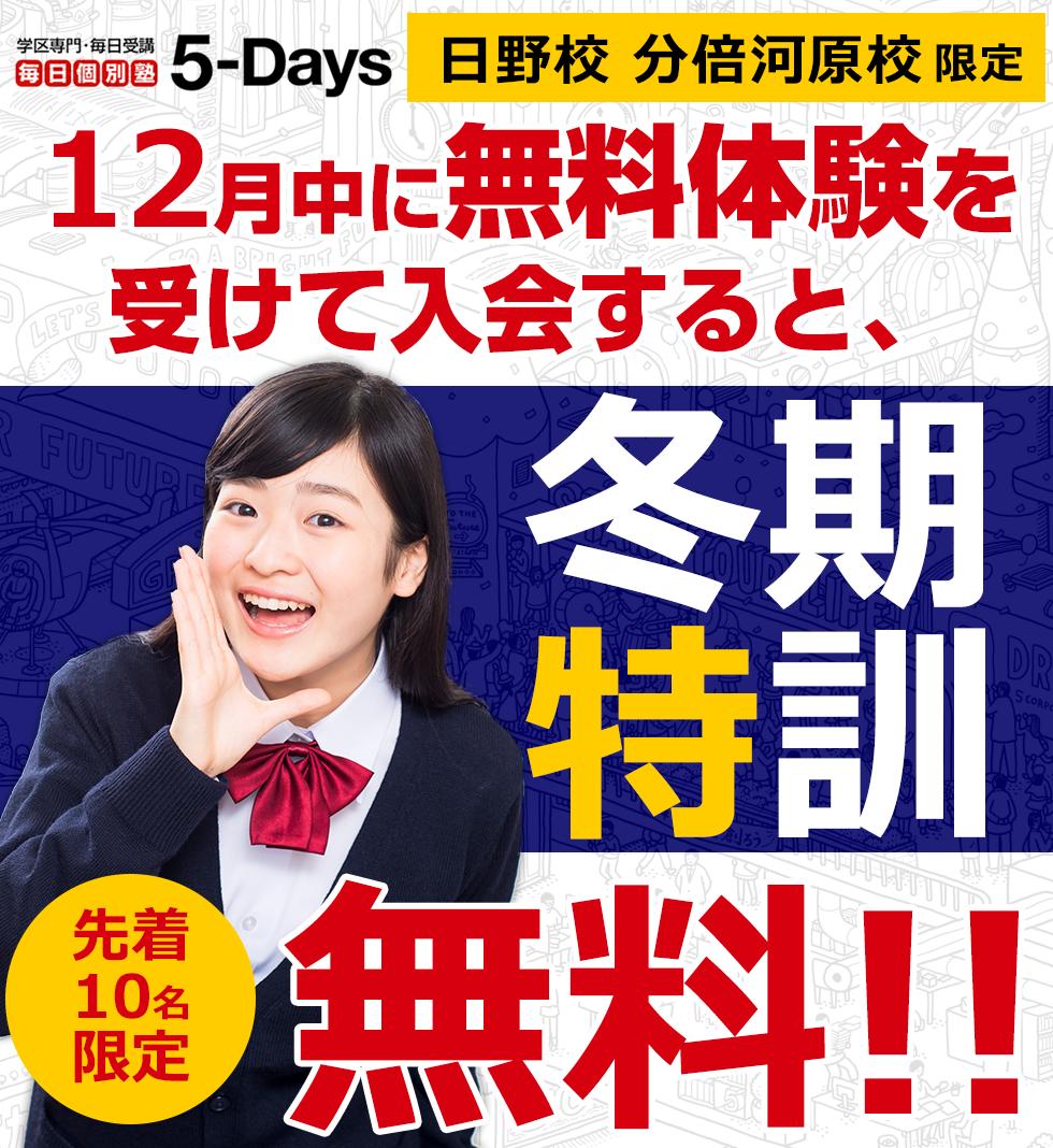 毎日個別塾5-Days